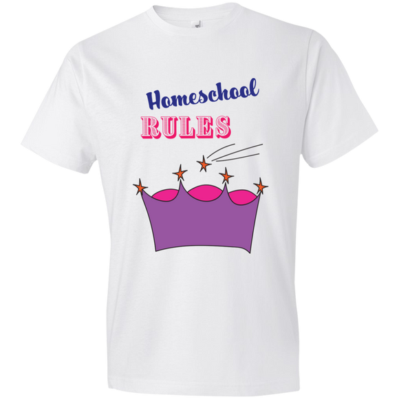Homeschool Rules Youth T-Shirt