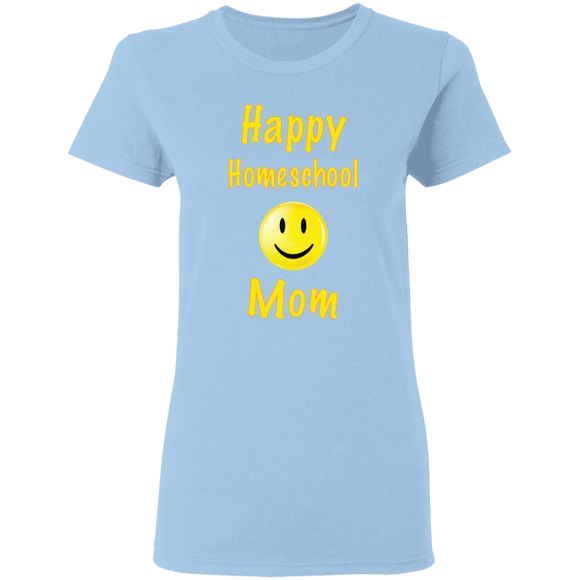 Happy Homeschool Mom T-Shirt