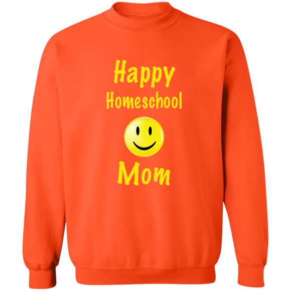 Homeschool Mom's Crewneck Pullover Sweatshirt
