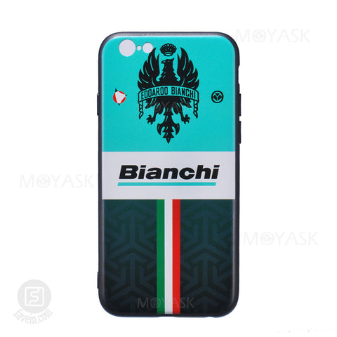 MOYASK TEAM BIANCHI PATTERN CASE FOR IPHONE 6/6S/7
