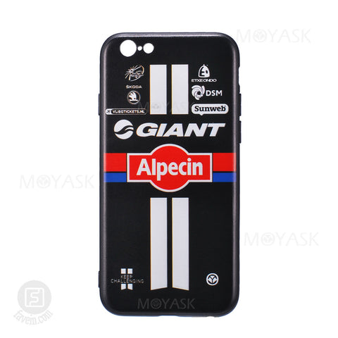 MOYASK TEAM GIANT ALPECIN PATTERN CASE FOR IPHONE 6/6S/7