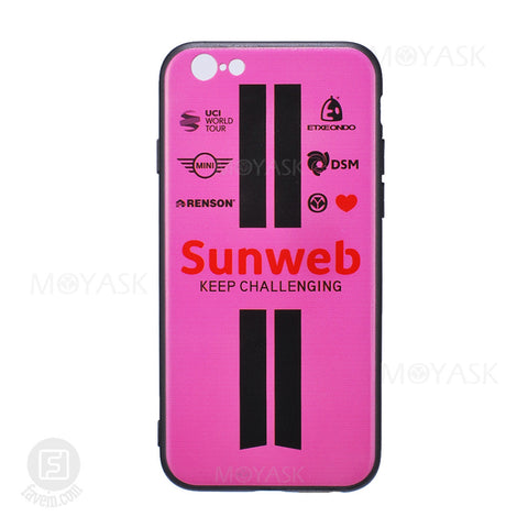 MOYASK TEAM SUNWEB PATTERN CASE FOR IPHONE 6/6S/7