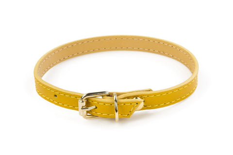 BABA - Leather cat accessories - Leather cat collar CLASSIC