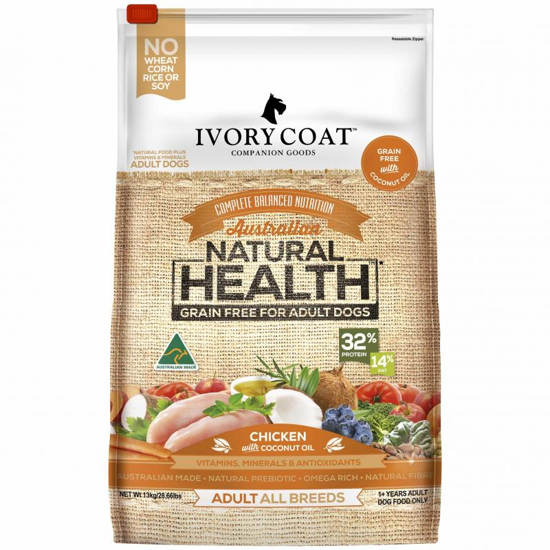 Ivory Coat Adult - Chicken & Coconut Oil 13KG