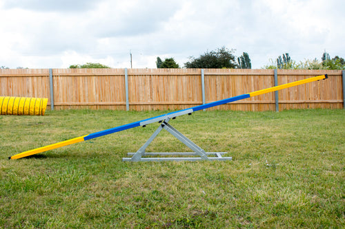 Dog Agility Aluminium See-Saw PRE-ORDER Ships Jan/Feb