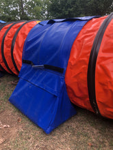 Velcro Saddle Bags for Agility Tunnel PRE-ORDER Ships June