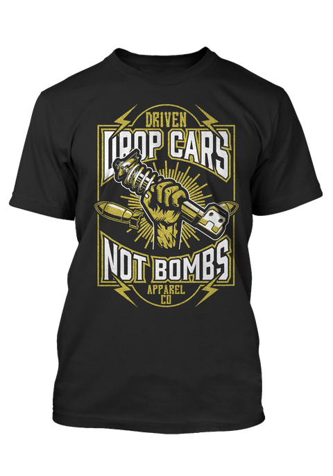 Drop Cars Not Bombs 24k