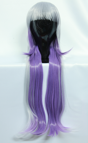 Kanna Kobayashi - Long Straight Light & Dark Purple Wig