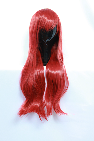 Sanae Ebato - Long Straight Red Wig