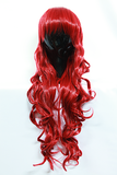Ariel - Deep Red Curly Wig