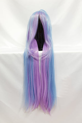Shiro - Long Blue & Purple Wig