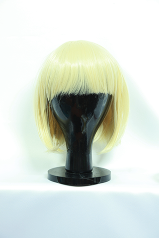 Short Light Blonde Wig