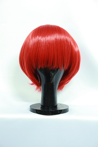 Shirayuki - Short Bright Red Wig