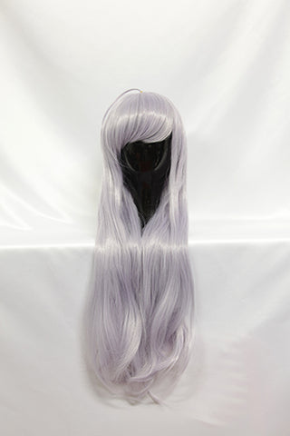 Sistine Fibel - Long Pale Lilac Wig