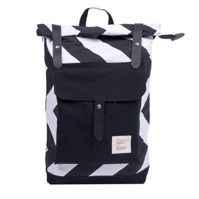 black and white backpack canada