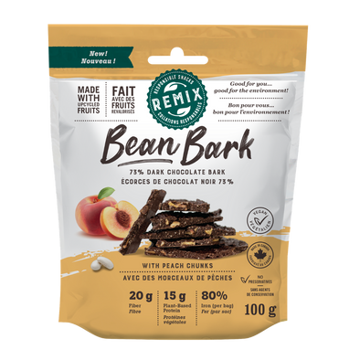 remix snacks bean bark