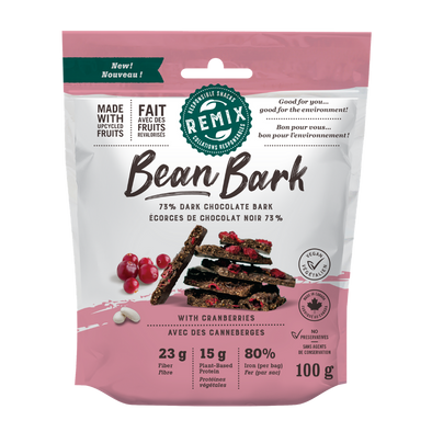 Remix Snacks - Bean Bark Cranberry