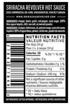beet hot sauce nutritional information