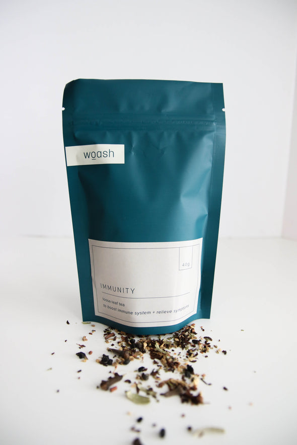 woash wellness immunity loose leaf tea vancouver