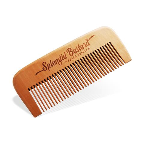 Splendid Bastard - Beard Comb (Wood)