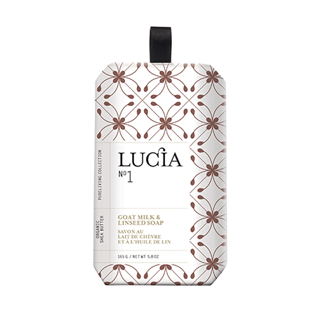 pure living lucia goats milk soap