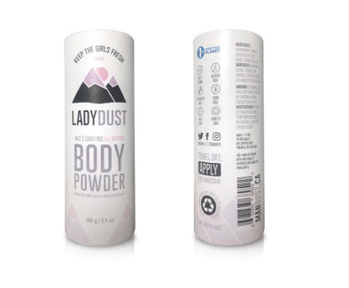 natural body powder for women vancouver