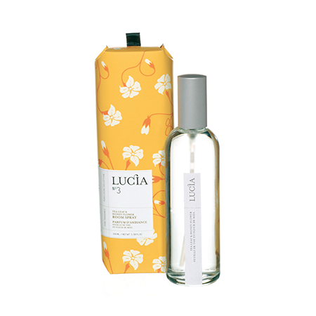 Lucia - No.3 Tea Leaf & Wild Honey Room Spray
