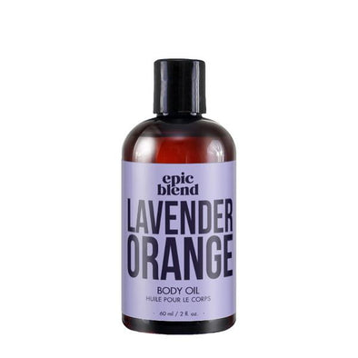 lavender orange body oil by epic blend