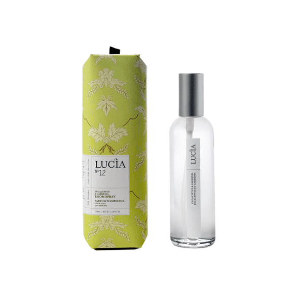 Lucia - No.12 Eucalyptus & Gardenia Room Spray