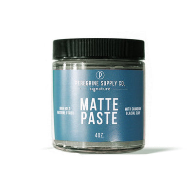 Peregrine Supply Co. - natural mens hair Matte Paste