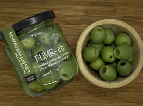 Fume-Eh Gourmet - Smoked Pitted Castelvetrano Olives