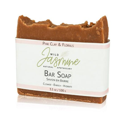 Wild Jasmine Apothecary - Pink Clay & Florals Soap