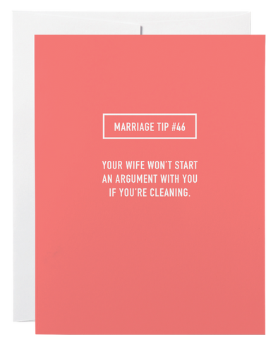 Classy Cards Creative - Marriage Tip #46 Greeting Card