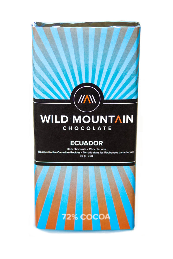 wild mountain chocolate Ecuador