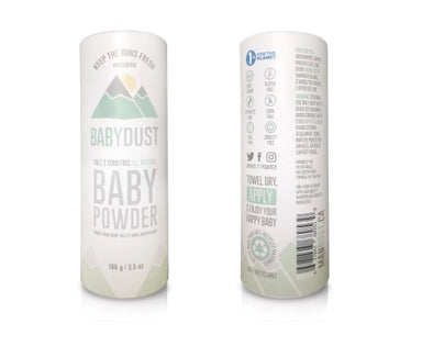 natural baby powder vancouver