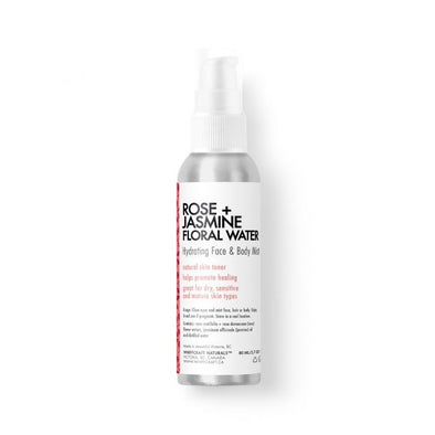 rose jasmine face spray made in canada