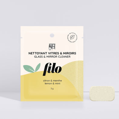 Filo - Mirror and Glass Cleaner 100% Natural - Lemon & Mint