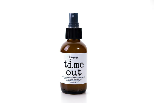 K'Pure Naturals - Time Out Essential Oil Spray