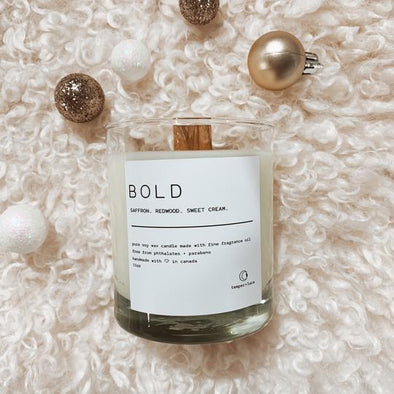 Temper + Lace - Bold Candle