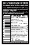 sriracha lime hot sauce nutritional information