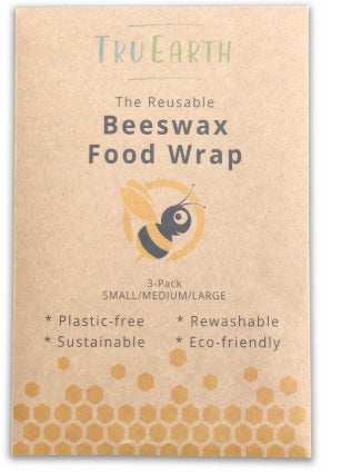 Tru Earth - Beeswax Wrap Wrap (Pack of 3)