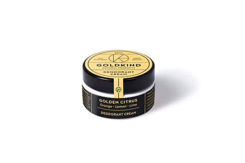 Golden Citrus Deodorant Cream