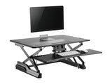 kybun Sitz-Steh Desktop Workstation black