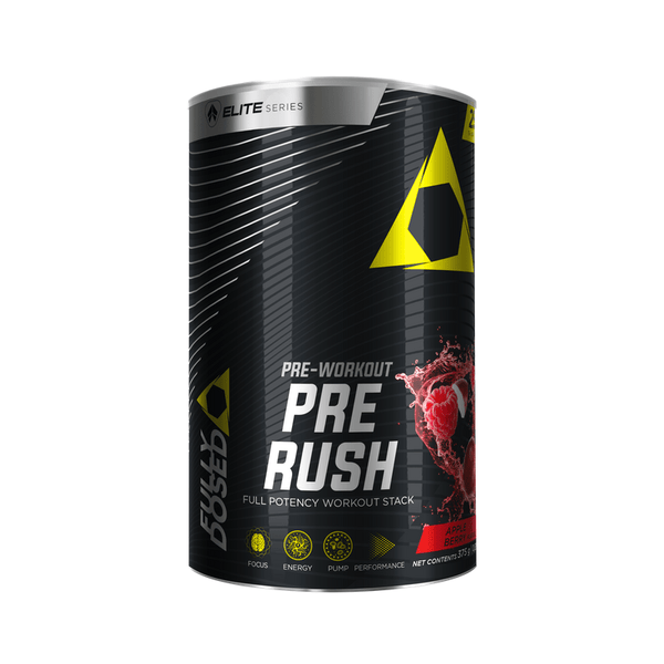 Fully Dosed Pre Rush 375g - My Body Guru