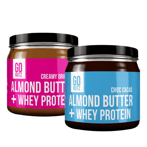 Go Nutz - Whey Protein Almond Butter - My Body Guru South Africa