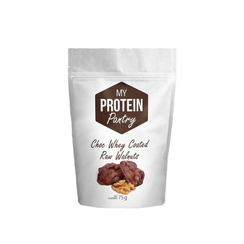My Protein Pantry Chocolate Whey Coated Raw Walnuts 50g - My Body Guru South Africa