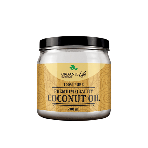 Organic Life 100% Pure, Selected Virgin Coconut oil 200ml - My Body Guru South Africa