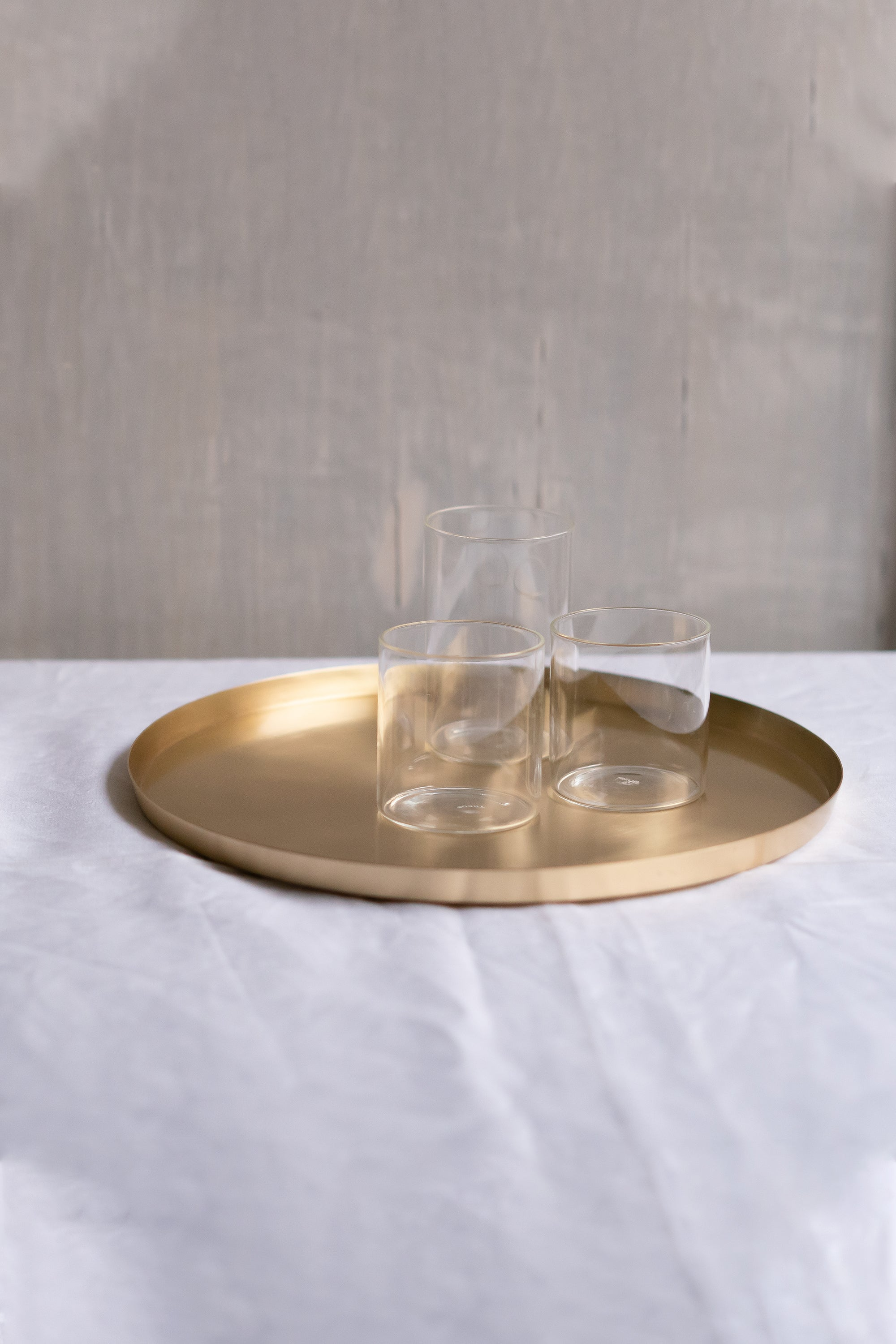 Heirloom Brass Serving Plate - Fleck
