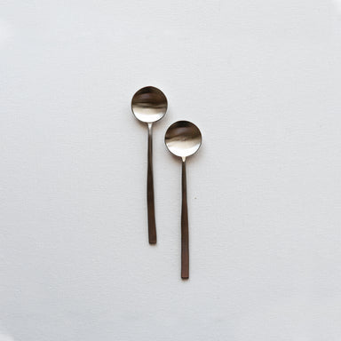 Set of 2 stainless steel spoons by fleck.co.in