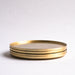 Barware, Brass coasters by fleck, stackable